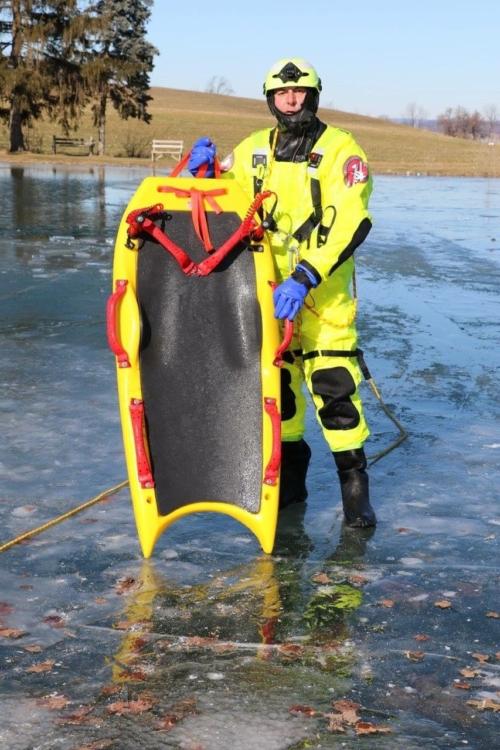 RIVERx All-Season water and ice rescue board